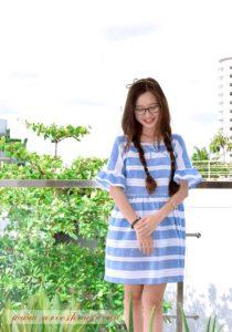 Đầm babydoll thiết kế