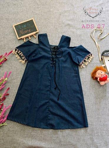 Đầm demin thiết kế Aries House